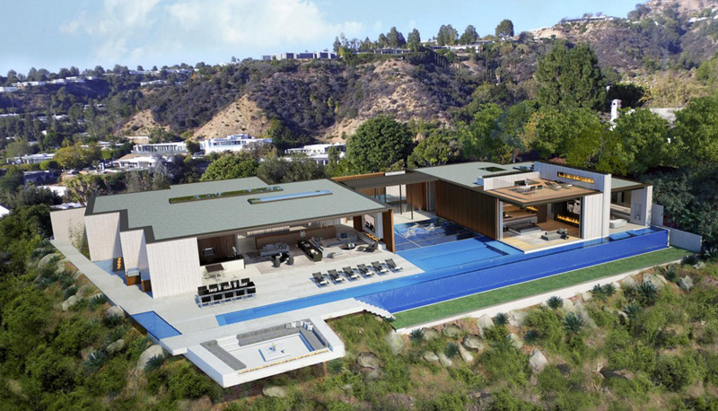 Beverly Hills House With Private Nightclub