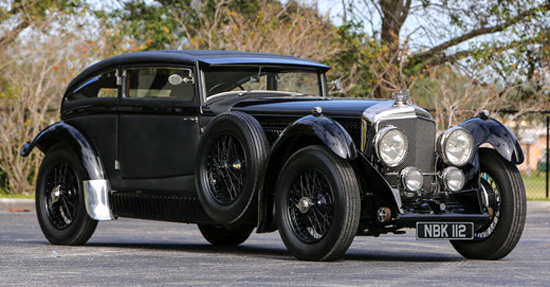 "1930 Bentley ""Blue Train"" Re-creation"