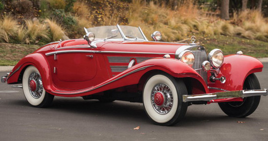 1937 Mercedes 540K Sold for $9.9 Million