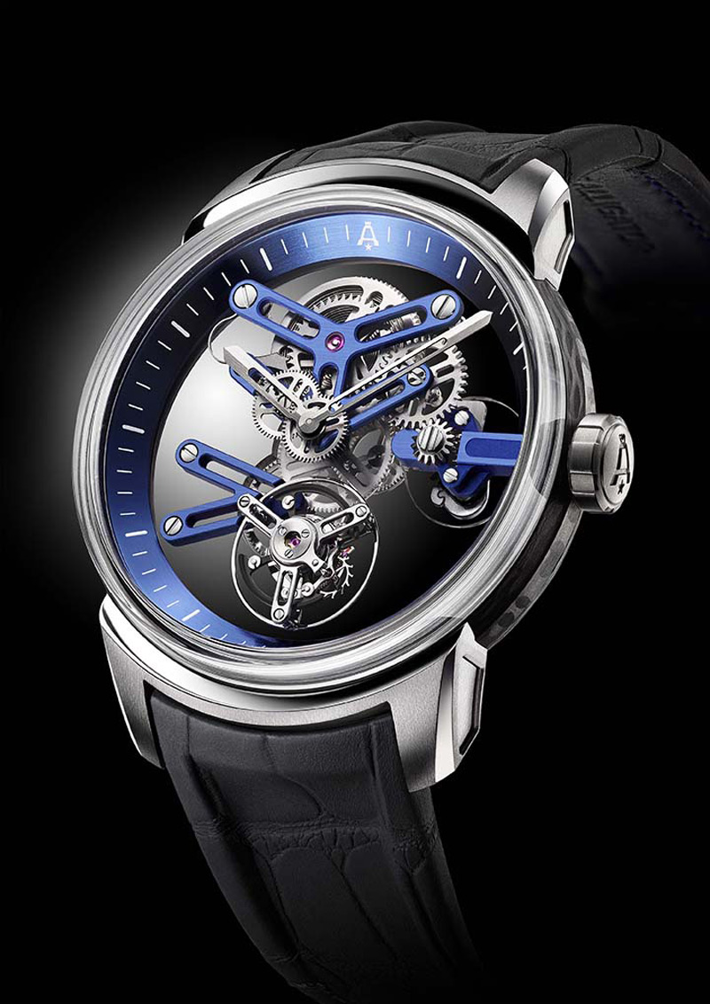 Angelus Introduces U20 Ultra-Skeleton Tourbillon