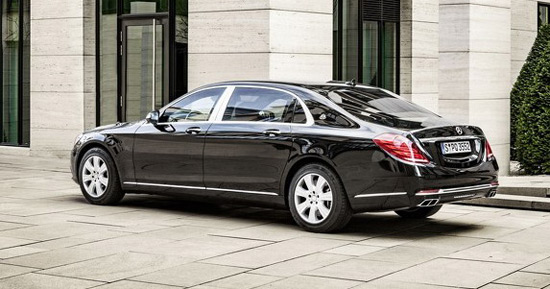 armored mercedes-maybach s600 guard vehicle - extravaganzi