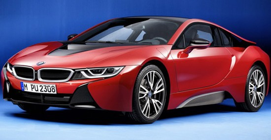 Limited BMW i8 Protonic Red Edition