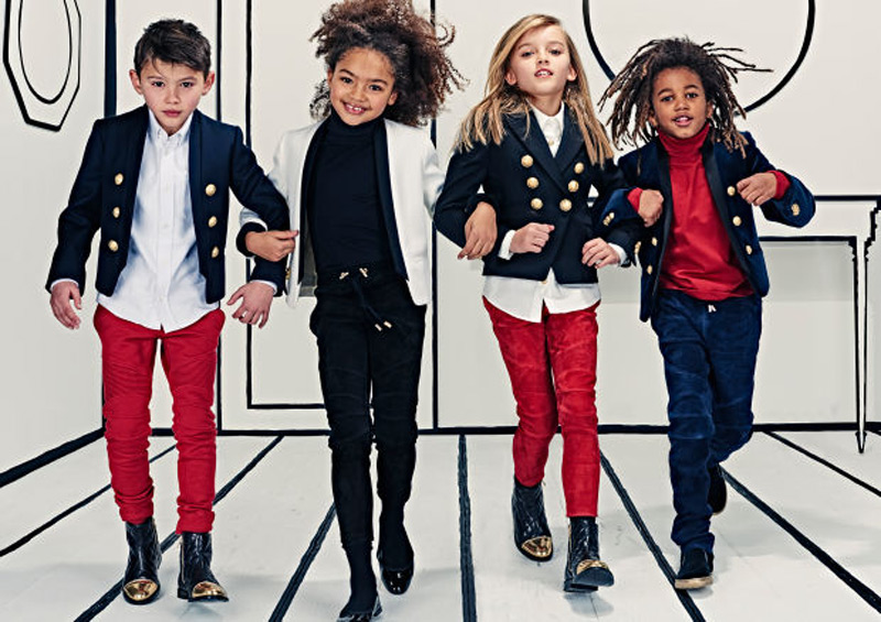 Balmain's First Children's Collection