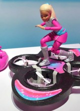 Barbie's Hoverboard Which Truly Flies