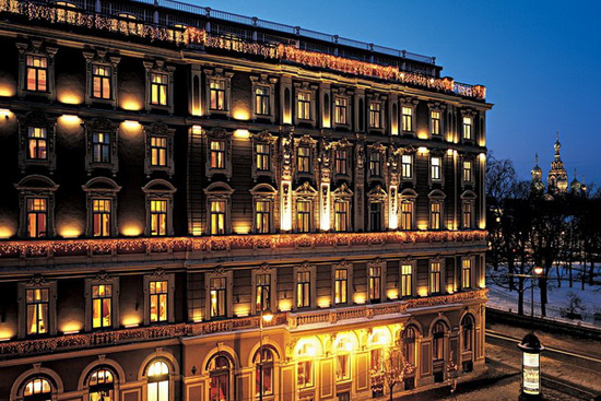 The Grand Hotel Europe
