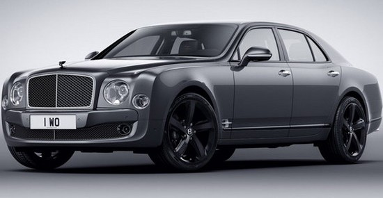 Special Bentley Mulsanne Speed Beluga Edition