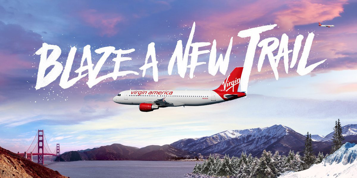 Blaze a New Trail - Virgin America's New Service Between San Francisco And Denver