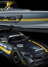 Powerboat Inspired by Mercedes-AMG GT3