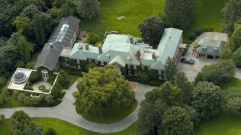 Conrad Black's Bridle Path Mansion Goes Under The Hammer