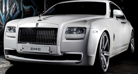 DMC Rolls-Royce Ghost SaRangHae Edition For Korea's 'Asia Prince'