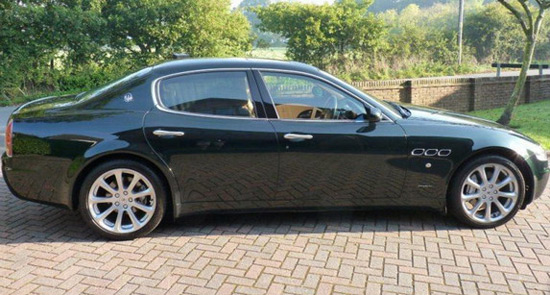 Elton John's Maserati Quattroporte