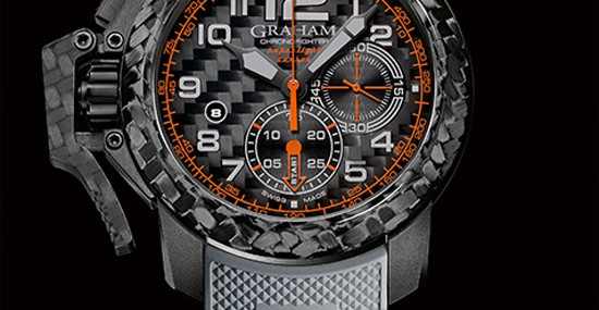 GRAHAM Chronofighter Superlight Carbon Watch
