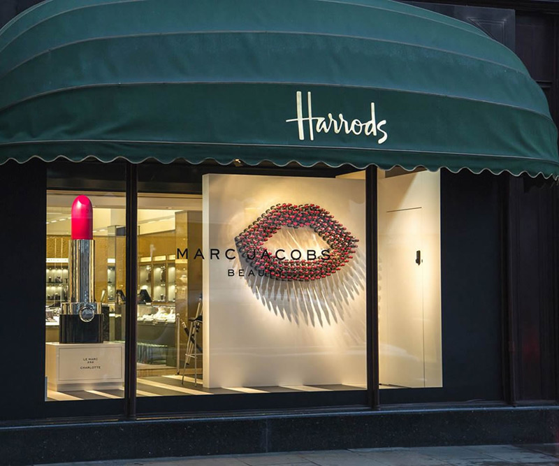 Marc Jacobs Beauty Debuts at Harrods