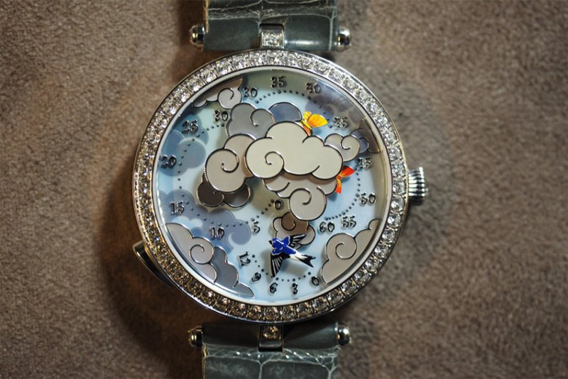 Van Cleef and Arpels' Lady Arpels Ronde des Papillons Watch