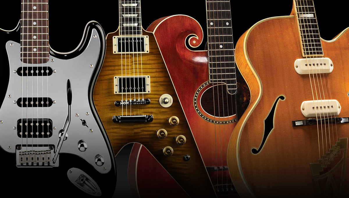 Legendary Rock Guitars to Be Auctioned