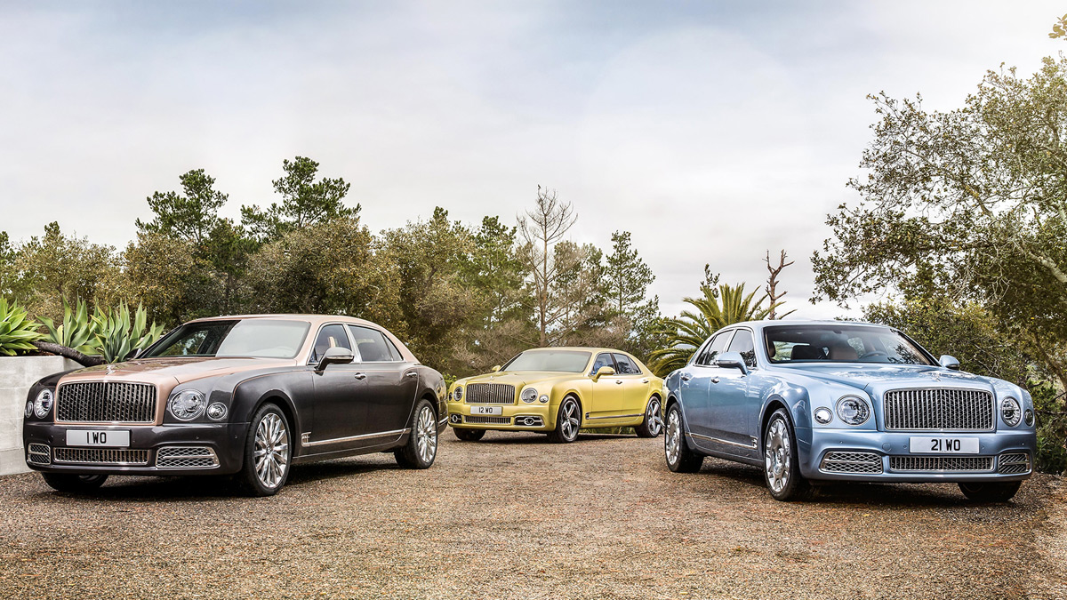 Bentley Unveils New Mulsanne Model Range At Geneva