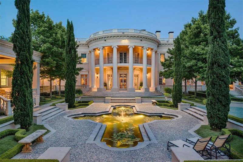 Palatial Dallas White House Reduced to $15 Million