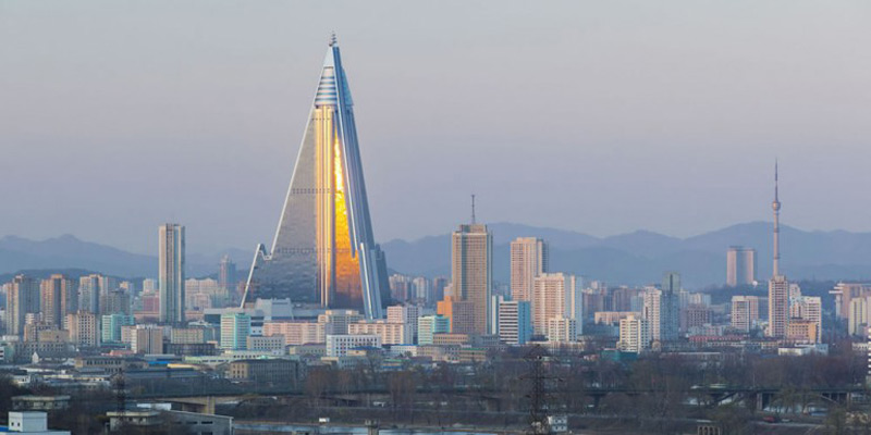 Worlds Largest Abandoned Hotel -105-story Ryugyong Hotel in North Korea
