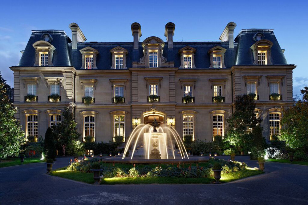 "Saint James Paris - Only ""Château"" Hotel In All Of Paris"