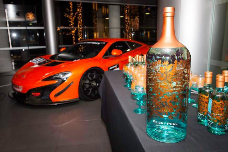 Silent pool unveils world 39 s largest and most expensive - Silent pool gin ...