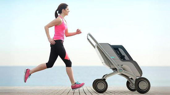 Smartbe - Intelligent Stroller You Don't Have to Push