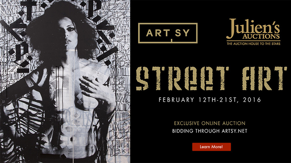 "Julien's Auctions' ""Street Art Now"" Sale on Artsy"