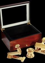 Goldgenie's Executive 24K Gold Desk Collection