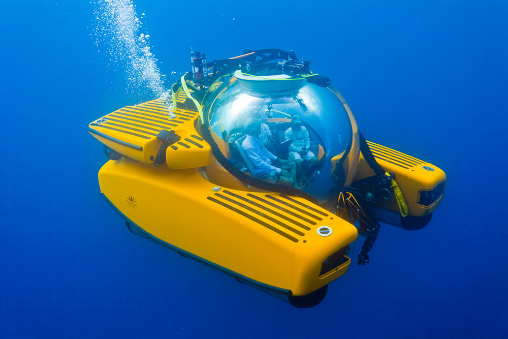 Triton's New Submersible Dives Deep