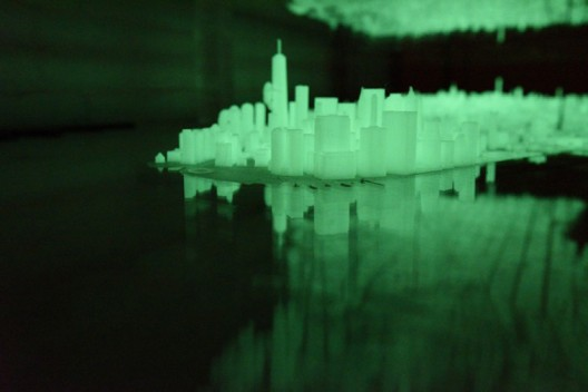 3D Printed New York City Desk That Glows