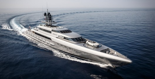 77 metre Silver Fast - Very Fast $86 Million Vessel