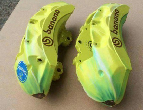Banana Brembo Brake Calipers