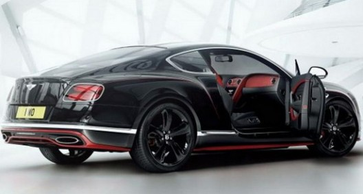 Bentley Continental GT Black Speed Limited Edition  eXtravaganzi