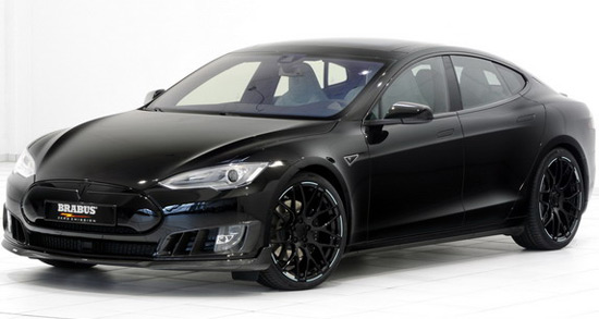 Brabus Tesla Model S Black Edition