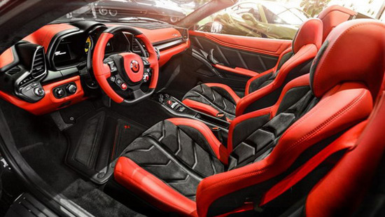 Carlex Ferrari 458 Spider