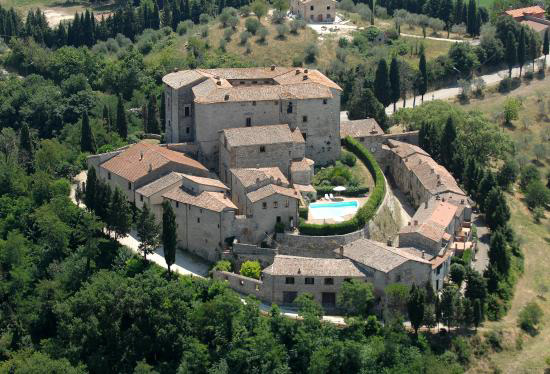 Castle di Sismano in Todi