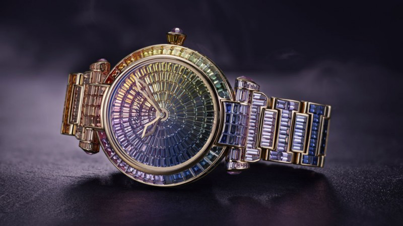 Rainbow-inspired Chopard Imperiale Joaillerie Watch At Baselworld 2016