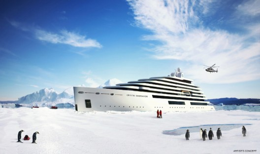 Crystal Endeavor - World's Largest And First-ever Luxury Polar Class Expedition Megayacht