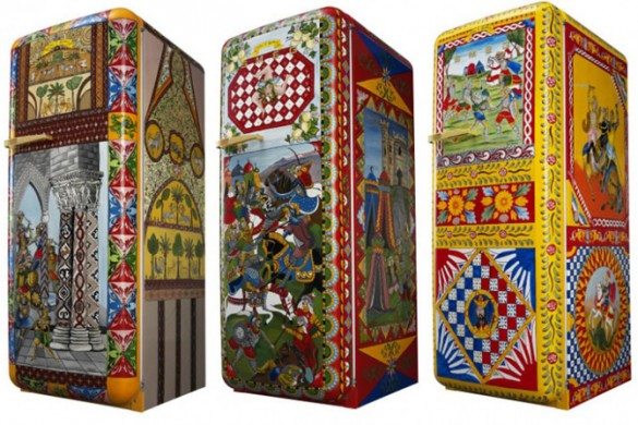 Smeg's Fridges Dressed In Dolce & Gabbana