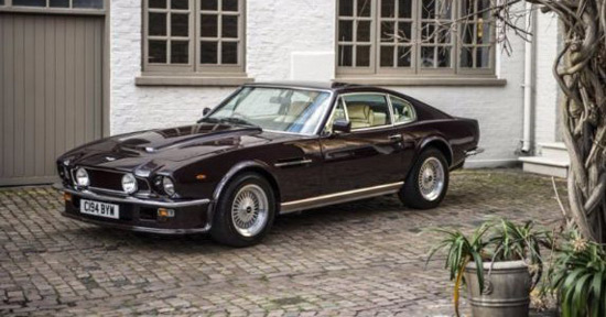 Royal Cherry Aston Martin V8 Vantage Saloon