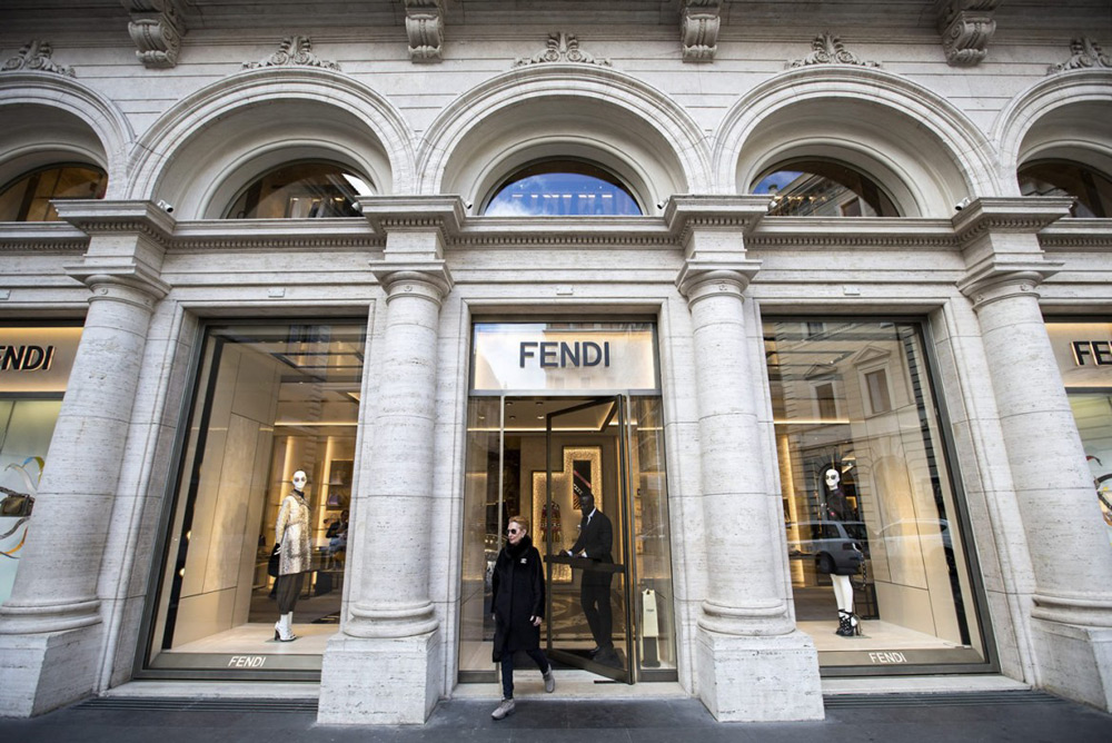 Inside Renovated Palazzo Fendi Headquarters In Rome