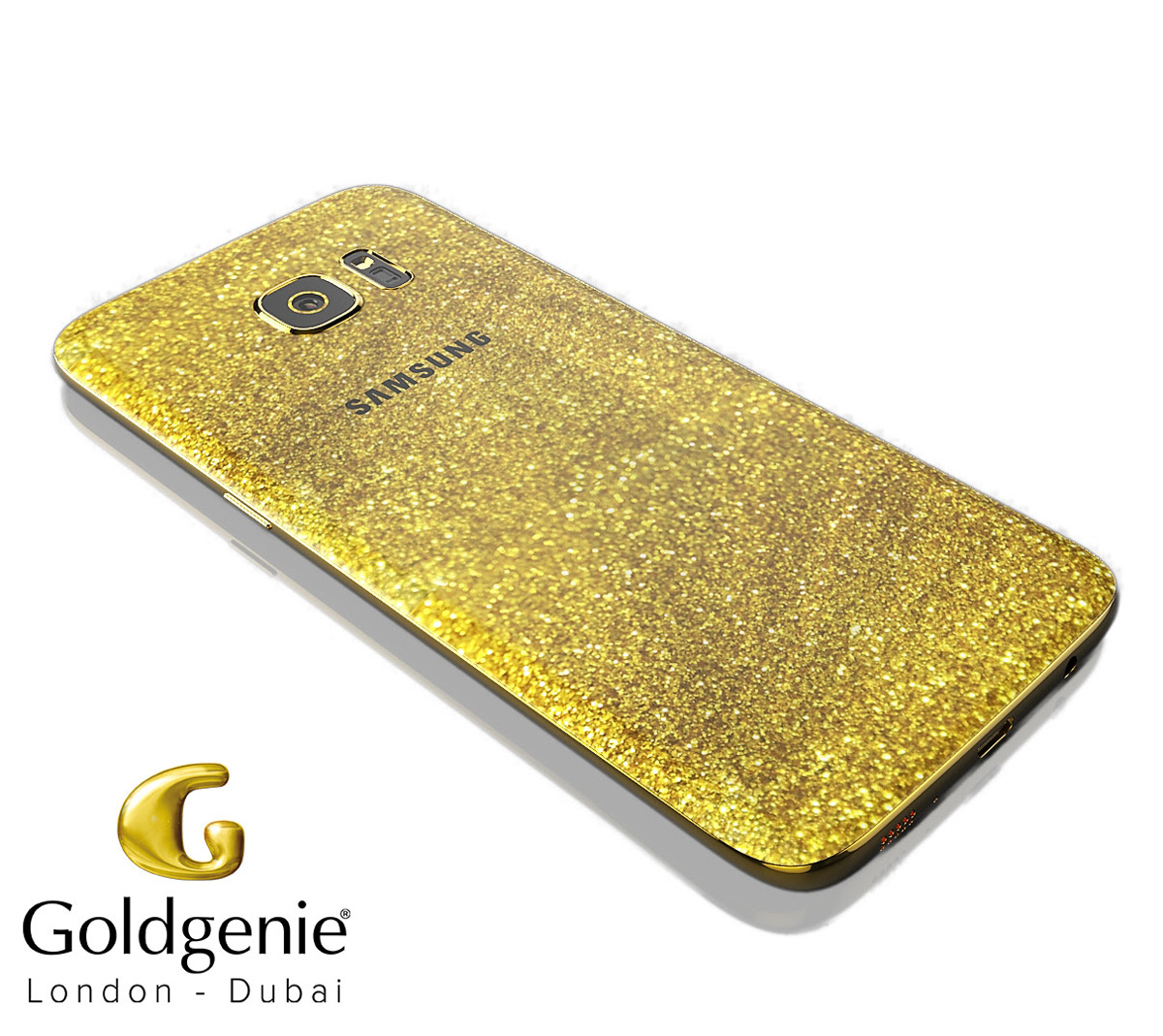 Gold Samsung Galaxy S7 and S7 Edge