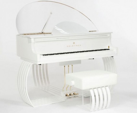 World's First Superyacht Grand Piano