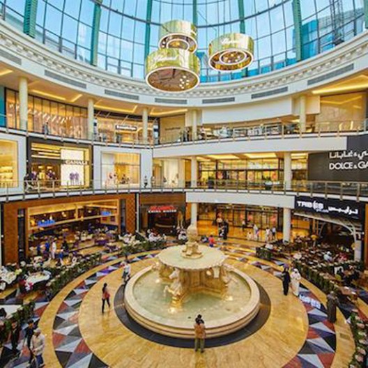 Chopard's Happy Diamond Art Installation At The Mall of the Emirates