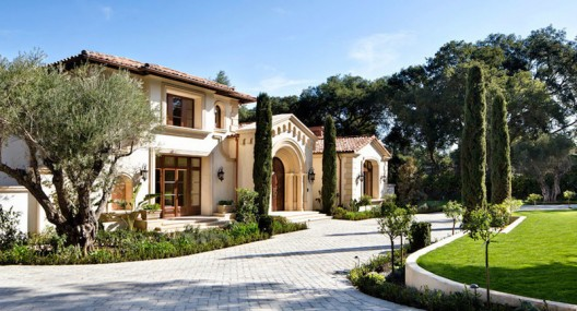 Just Completed Contemporary Italian Villa in Atherton, California On Sale For $42.8 Million
