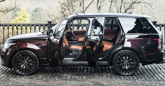 Black Kirsch Over Madeira Red Range Rover - RS Pace Car by Kahn Design