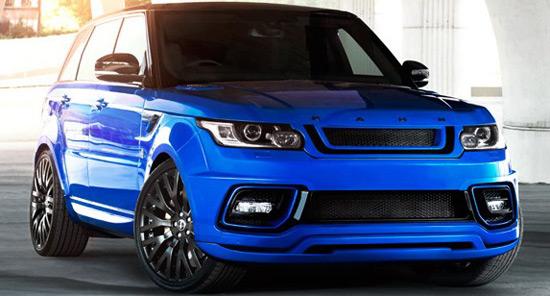 Kahn Range Rover Sport - RS Pace Car
