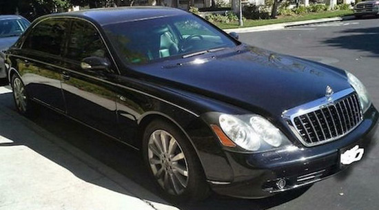 Charlie Sheen's Armored Maybach 62S