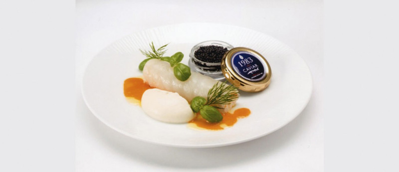 Miyazaki Caviar 1983 For First-Class Passengers On Japan's ANA Air Western Routes