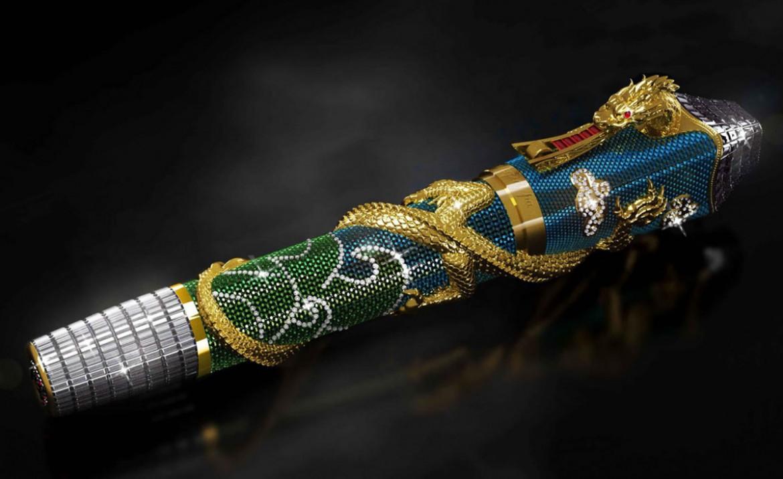 $1 Million Montegrappa Ultimate Centennial Dragon Pen On Sale