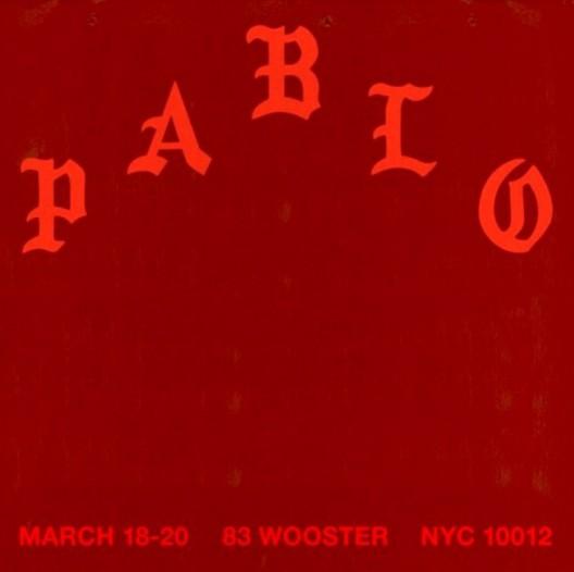 Kanye West's Pablo Pop-Up Shop In New York City